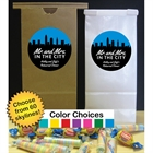 Pick Your Skyline Bridal Party Favor Bag