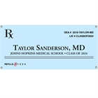 Graduation Prescription Pad Theme Banner