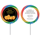 Halloween Fun Pumpkins Theme Lollipop