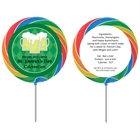 St. Patrick's Day Green Beer Lollipop