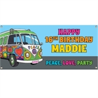 Hippie Bus Theme Banner