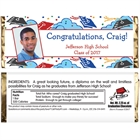 Graduation Picture Theme Candy Bar Wrapper