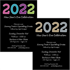 2016 New Year's Celebration Invitation