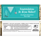 Graduation Scrubs Theme Candy Wrapper