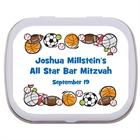 Sports Balls Theme Mint Tin