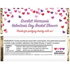 Heart Confetti Candy Bar Wrapper