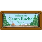 Camping Theme Banner
