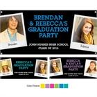 Graduation Polaroid Photo Theme Banner