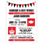 Graduation Icons Invitation