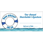 Cruise Theme Seating Card