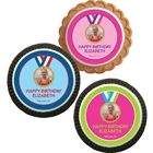 Gymnastics Gold Medal Photo Custom Cookie
