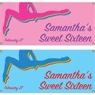 Colorful Gymnastics Theme Banner