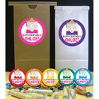 Kids Birthday Paint Party Theme Favor Bag