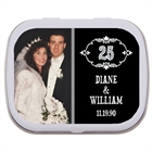 25th Anniversary Vintage Photo Mint Tin