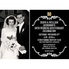 50th Anniversary Vintage Photo Invitation