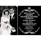 50th Anniversary Vintage Photo Invitation