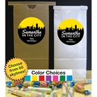 Pick Your Skyline Birthday Party Favor Bag