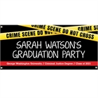 Criminal Justice Degree Graduation Theme Banner