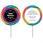 Halloween Eyeballs Theme Lollipop