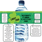 St. Patrick Day Irish Theme Water Bottle Labels