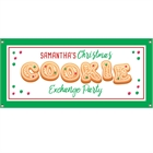 Christmas Cookie Exchange Party Banner