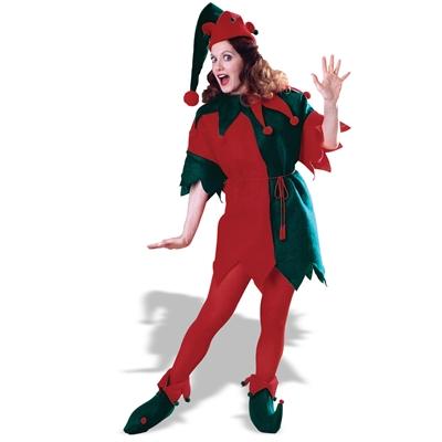 Complete Elf Adult Costume