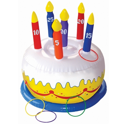 Inflatable Cake Ring Toss Game