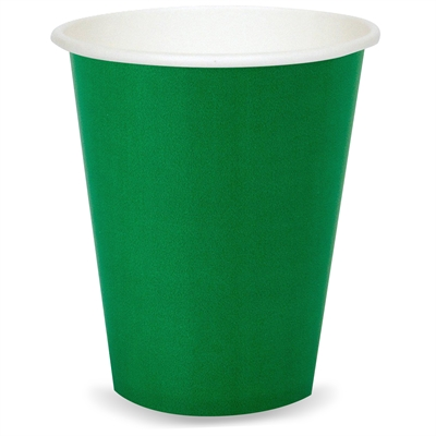 Green Paper Cups (24)