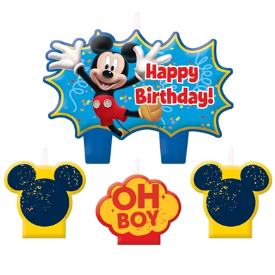 Disney Mickey Mouse & Friends Birthday Candle Set