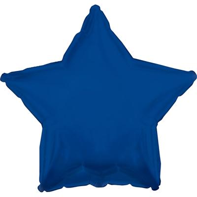 Navy Blue Star Foil Balloon