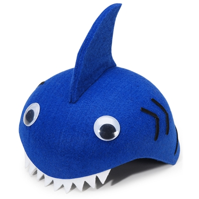 Felt Shark Hat