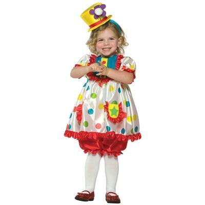 Clown Girl Toddler Costume