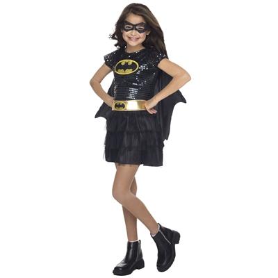 Batgirl Sequin Toddler Costume