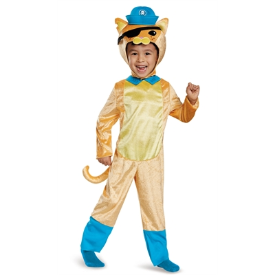 Octoanuts Kwazii Cat Classic Toddler Costume