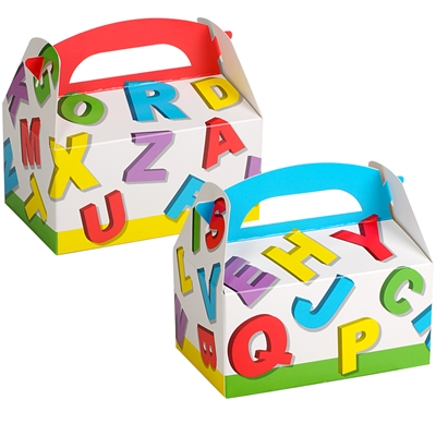 Alphabet Empty Favor Boxes (4)