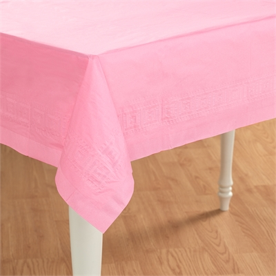 Pink Paper Tablecover