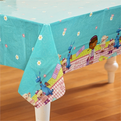 Disney Junior Doc McStuffins Plastic Tablecover