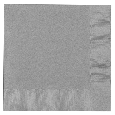 Silver Lunch Napkins (50)