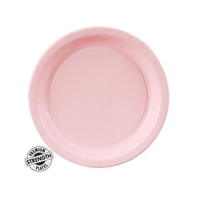 Light Pink Dessert Plates (24)