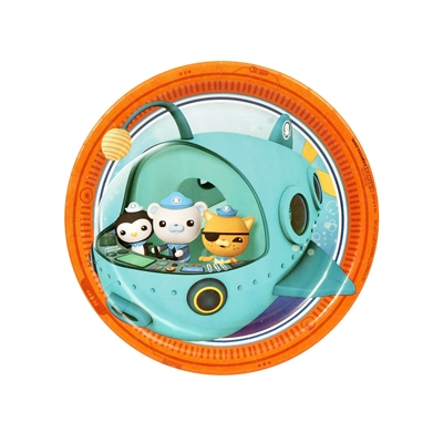 The Octonauts Dessert Plates (8)