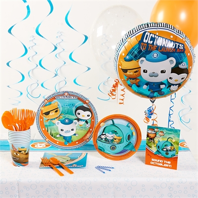 The Octonauts Deluxe Party Pack