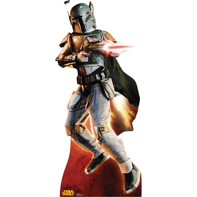 Star Wars Boba Fett Stand Up - 6' Tall