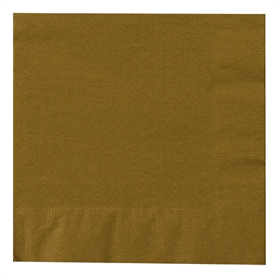Gold Lunch Napkins (50)