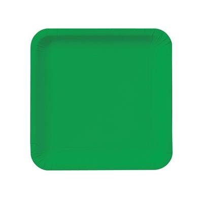 Green Square Dessert Plates (18)