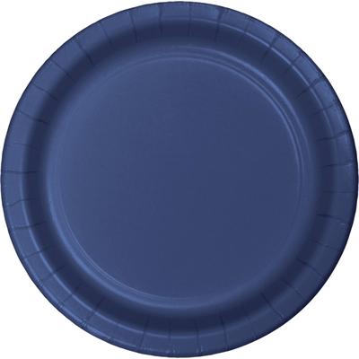Navy Blue Dinner Plates (24)