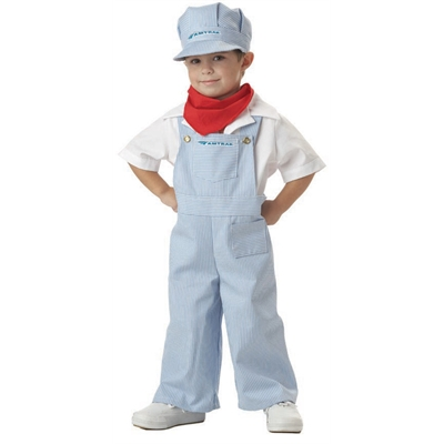 Amtrak Train Engineer Toddler Costume
