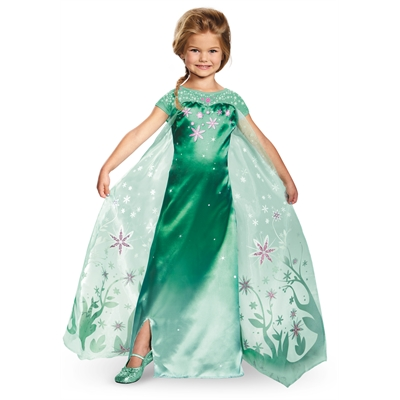 Elsa Frozen Fever Deluxe Toddler Costume