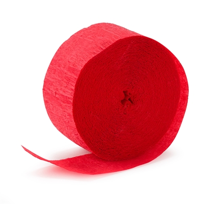 Red Crepe Paper