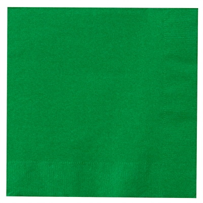 Green Lunch Napkins (50)