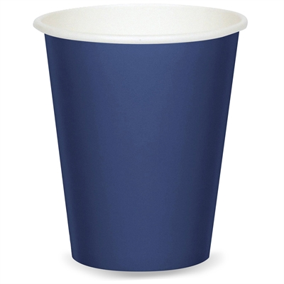 Navy Blue Paper Cups (24)
